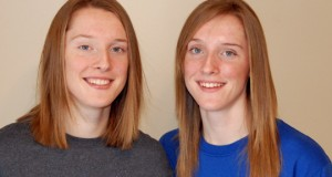 Twins Kadie and Amber Rolfzen committed to Nebraska before they'd even enrolled in high school. They are freshmen this year in their home-state dream school