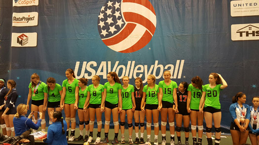 Five Starz proved too much for the competition and went undefeated en route to claiming the 16 National gold medal.