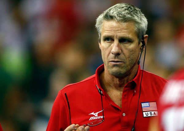Karch Kiraly is one of 25 members selected for the first So Cal Hall of Fame class to be inducted later this year. (Jamie Squire/Getty Images North America)