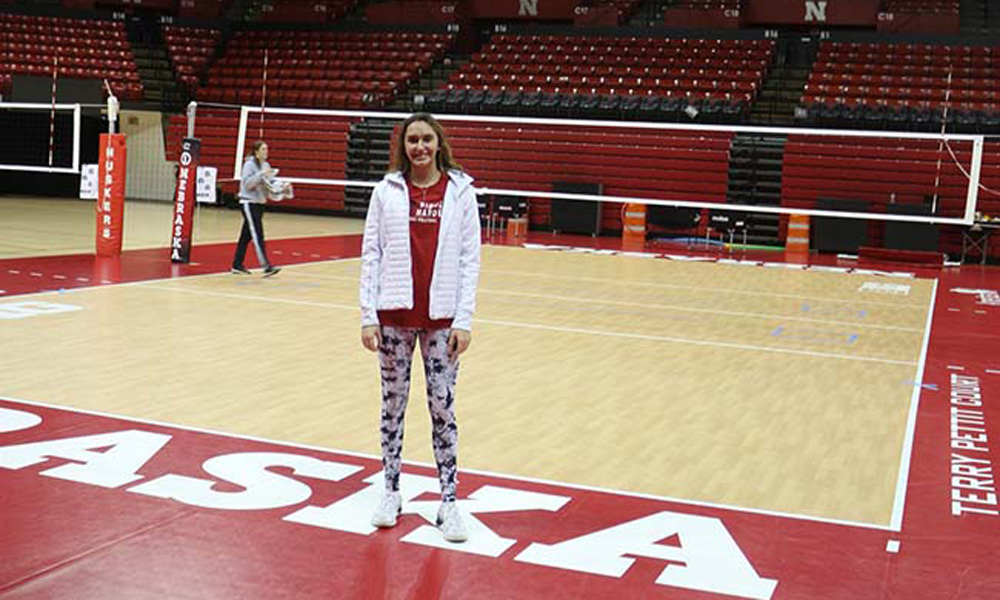 Notre Dame Academy volleyball standout Madison Salkowski